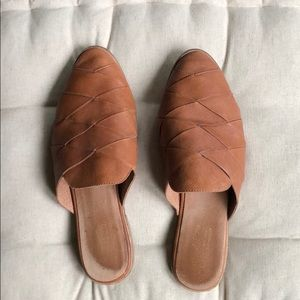 Pre-owned Seychelles Survival Mules 10 Tan Leather